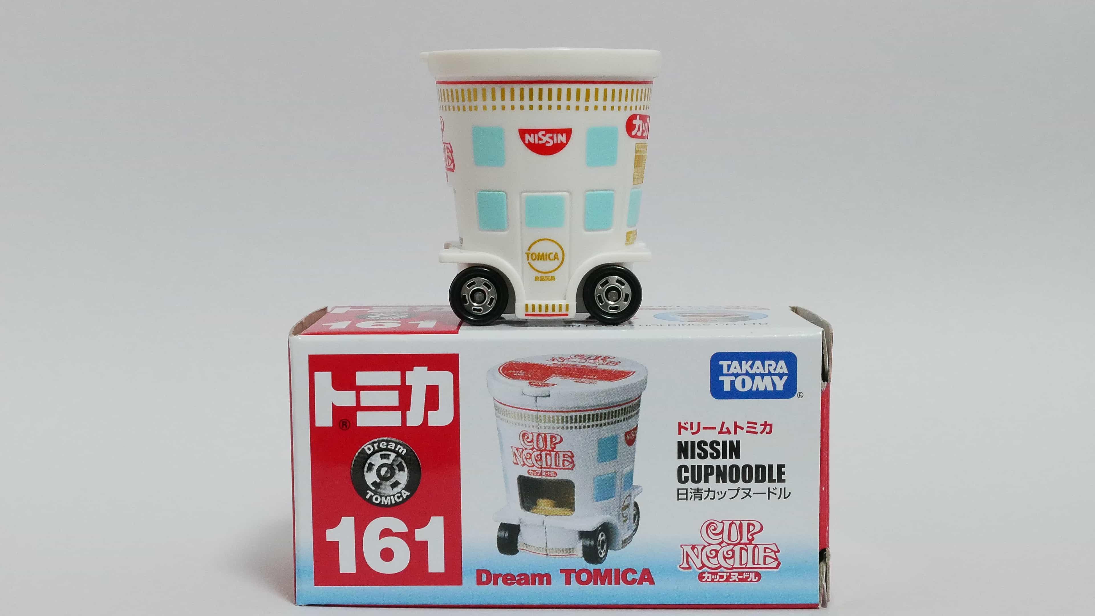 ドリームトミカNo.161-1日清カップヌードル-箱