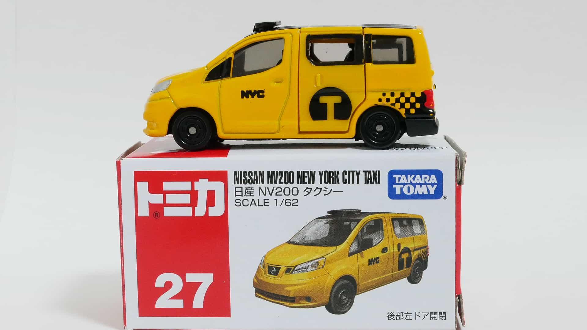 トミカNo.27-11日産NV200タクシー箱