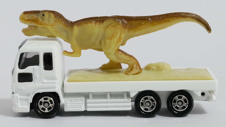 トミカNo.30-8恐竜搬送車side
