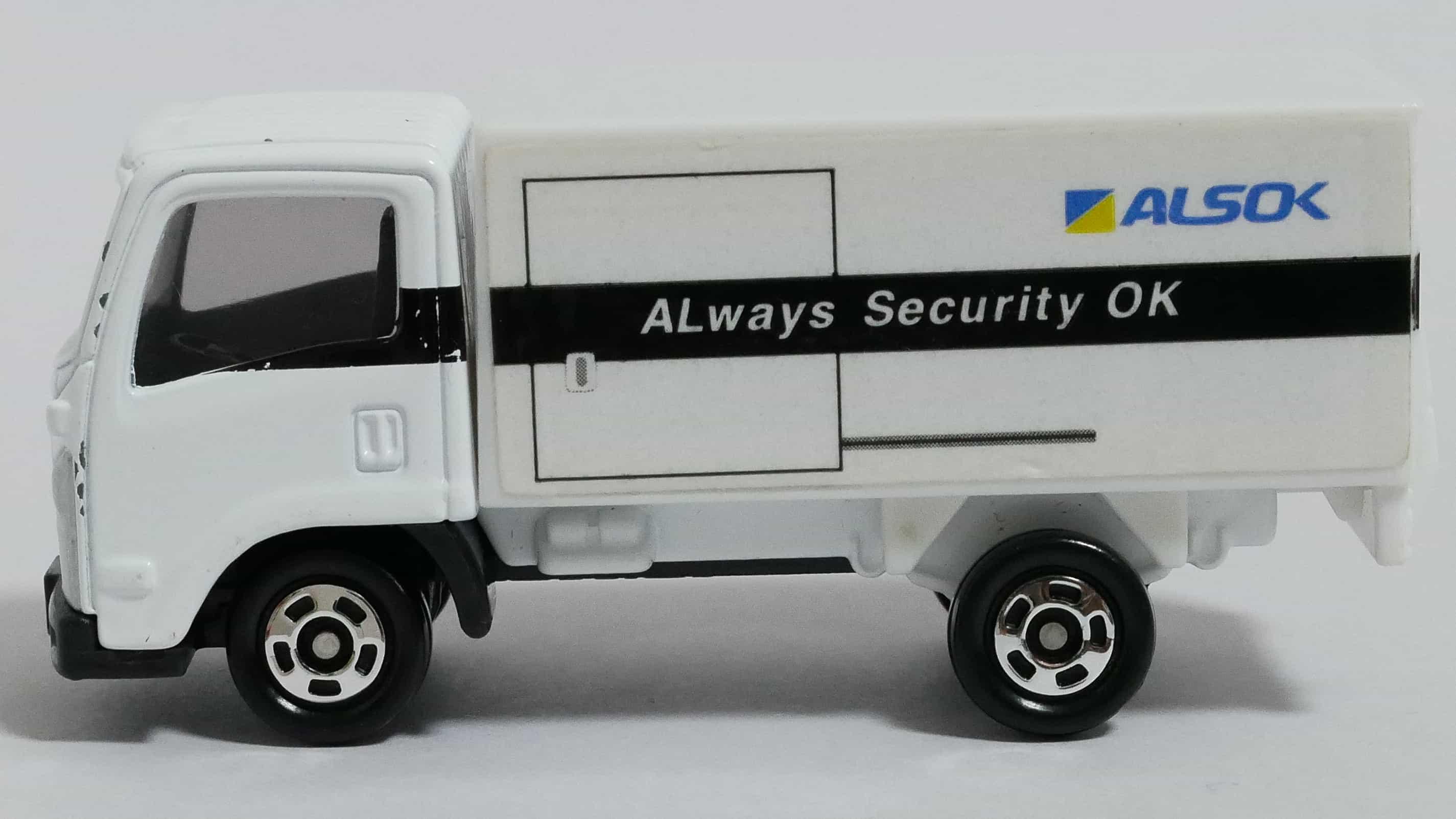トミカNo.34-9ALSOK現金輸送車-横