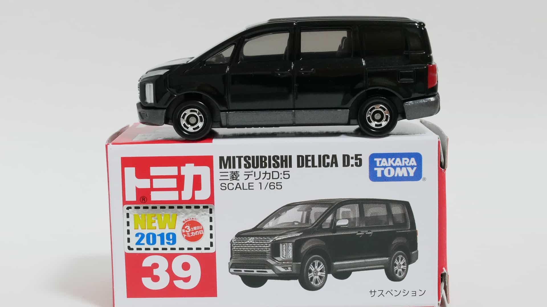 トミカNo.39-7三菱デリカD:5-箱