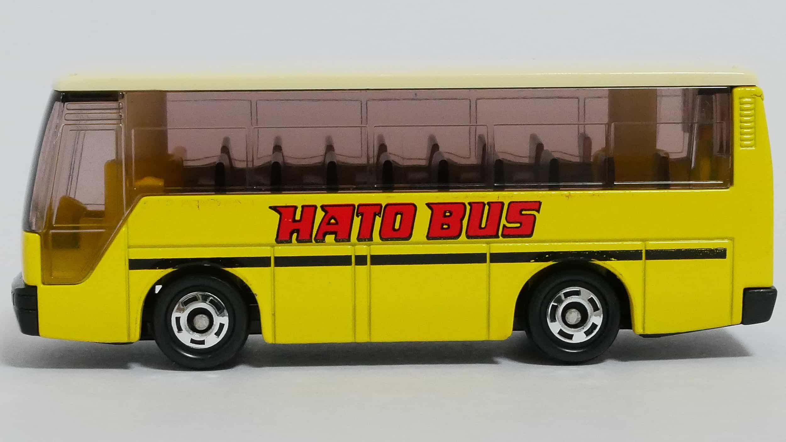 トミカNo.41-4いすゞスーパーハイデッカーバス-横