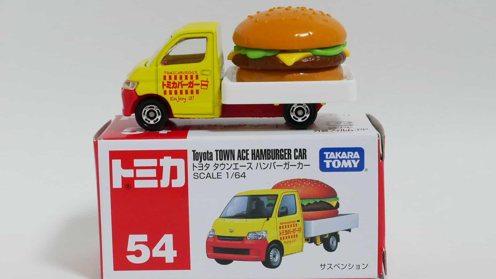 トミカNo.54-11トヨタタウンエースハンバーガー-箱