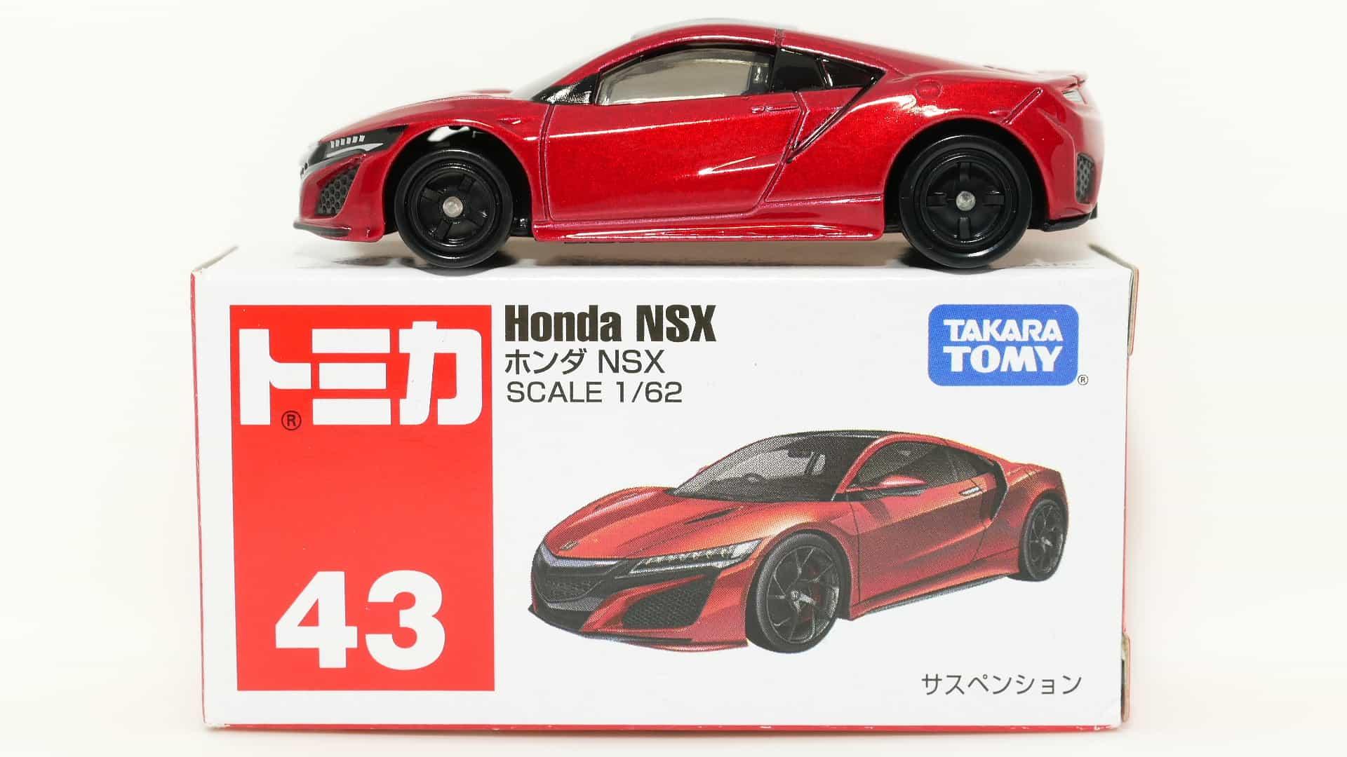 トミカ43-4ホンダNSX_箱
