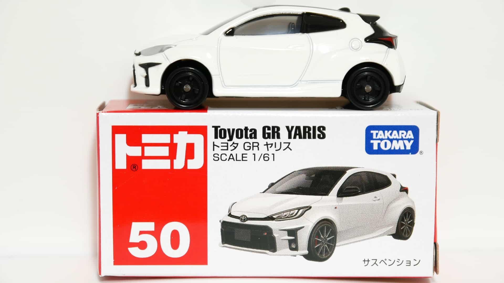 トミカ50-12トヨタGRヤリス_箱